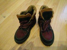 Buty zimowe nowe 28 skora zamszowa