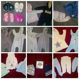 0-3 & 3-6 months Baby Clothing