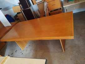 Huge Clearance Sale - Oak Boardroom Table