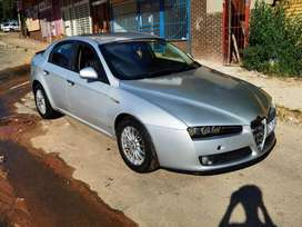 2007 Alfa Romeo 159 1.9i jtd petrol negotiable