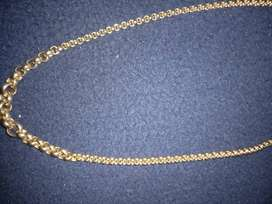 LADIES GOLD BELCHER CHAIN FOR SALE 9CT