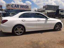 Pre-Owned 2015 Mercedes Benz C200 AMG Line Automatic with Panoramic