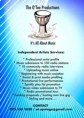independent artists services