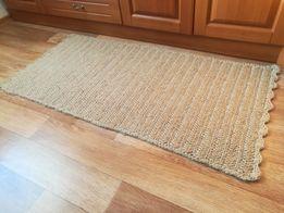 Дорожка из джута, коврик ручной работы, под заказ