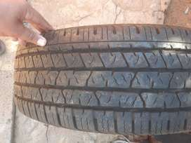 2×Continental tyres