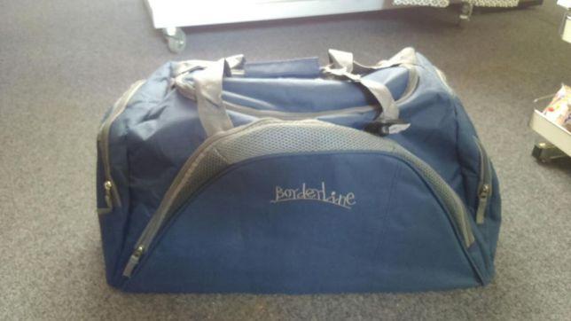 Torba podróżna duża dwa kolory fiolet granat nowa bagaż na podróż Hit Sierakowice - image 6