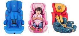 Brand New Baby Car Seat 9 months to 11 years-blue, pink, red