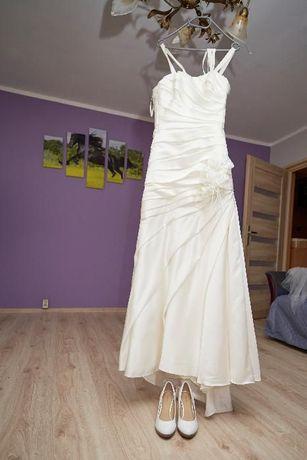 Prześliczna suknia ślubna rozmiar 36. Stan bdb. Gdańsk - image 3