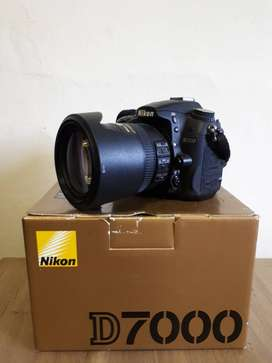 Nikon D7000 and 18-200mm Lens