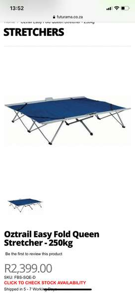 Oztrail double bed stretcher