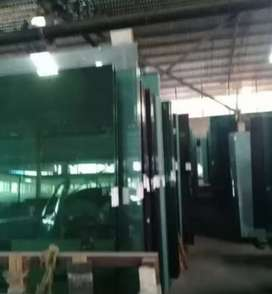We sell glass and replace broken windows