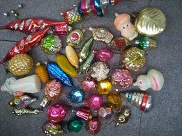 елочные игрушки стекло ссср
