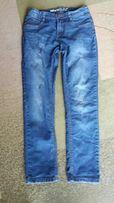 Spodnie jeansy chłopięce 158