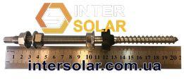 Винт-шуруп М10 комбинированный для крепления солнечных панелей
