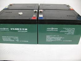 Аккумулятор тяговый 6-DZM-12, 12V 12Ah LogicPower 4,2кг, сентябрь 18