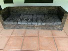 Outdoor/Indoor Sturdy Custom Made couch R2500 NEG