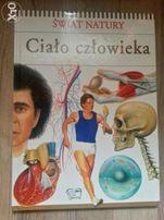 Świat natury - Ciało człowieka. Książka dla małych i dużych.