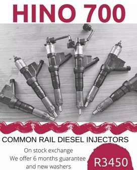 Hino 700 Injectors available