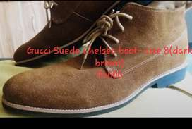 Gucci Chelsea Boot, Suede