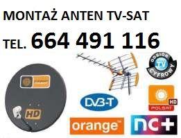 Montaż anten TV-SAT Busko Zdrój,Nowy Korczyn,Solec Zdrój,Pacanów,
