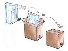 Пакет Bag-in-Box 10 л. метал. 14,00 грн. 3 л - 11,50 грн.,5 л-13,00 гр
