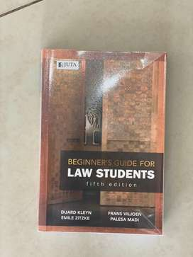 Law students textbooks