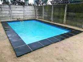 Expert in swimming pools and Thatching roofs