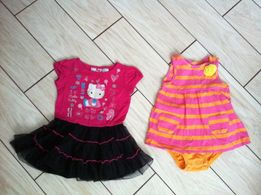 Carters Картерс платье с боди 18 -24 месяцев,Платье hello kitty 1,5-2г
