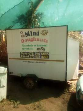 Custom built food trailer for sale