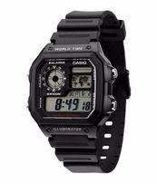 ОРИГИНАЛ | НОВЫЕ: Мужские часы Casio AE-1200WH-1AV Классика | ГАРАНТИЯ