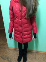 Пуховик для девочки 11-14 лет, размер XS