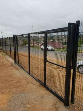 Affordable fencing and razor wire