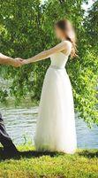 Zjawiskowa suknia ślubna rozm. 34 /36 ecru styl grecki