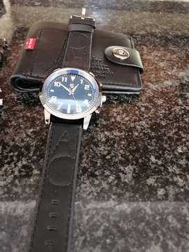 Watch and wallet