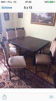 Stół i krzesła antyczne Okazja
