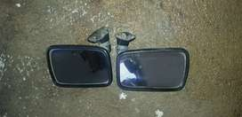 Golf 1 flag mirrors and coil