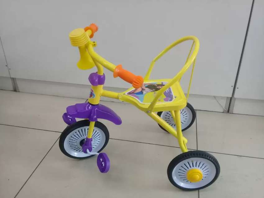Kids Cotton Tricycle 0