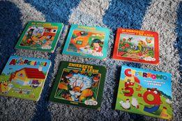 4 książeczki dlla maluszka