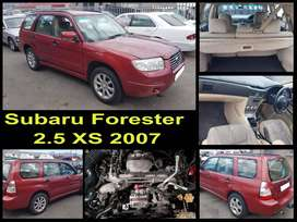 Subaru Forester 2.5 XS 2007 stripping for spares.