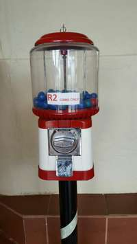 Image of Gum ball machine