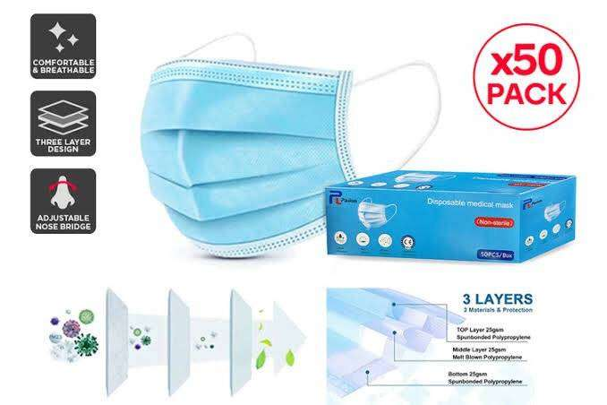 3ply disposable masks