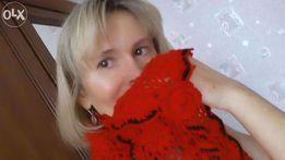 Cudny szalik w rozetkowe śnieżynki na szydełku - RĘKODZIEŁO