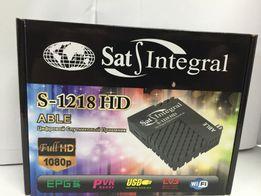 Тюнер для спутникового тв телевидения ресивер сат интеграл