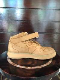 Image of Nike Air Force 1 Mid Wheats uk8