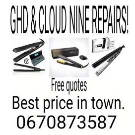 Ghd and cloud nine repairs and many more brands! !