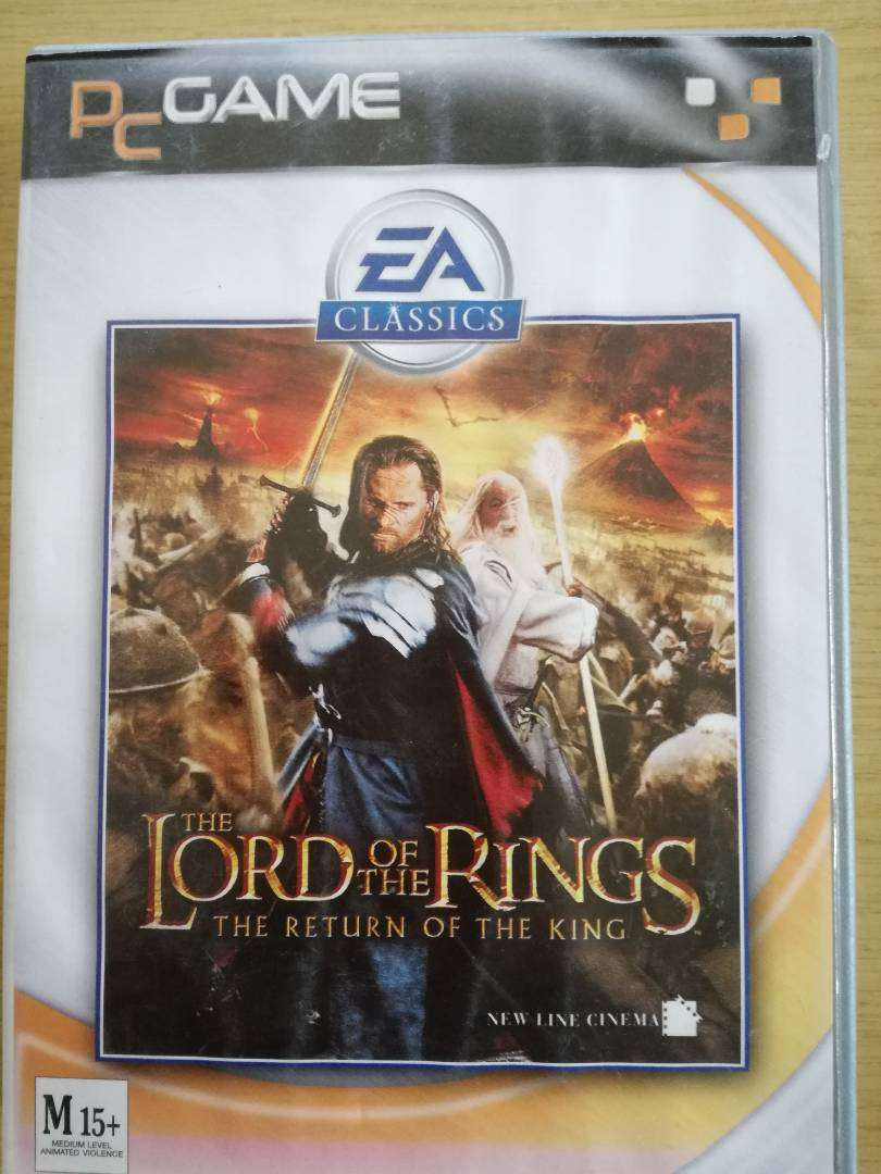 PC GAME  LORD OF THE RINGS  RETURN OF THE KING 0