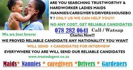 ARE YOU NEED HARD WORKER NANNIES/MAIDS/CAREGIVER? WE HAVE THEM