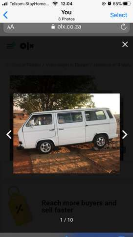 Microbus to Swap for Gym weights or Golf 1