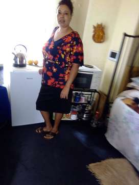 Mature 40 year old Lesotho maid/nanny/cook needs stay in job