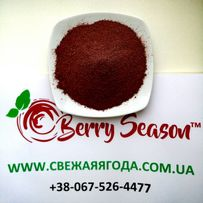 Порошек сушеных ягод клубники малины ежевики черники